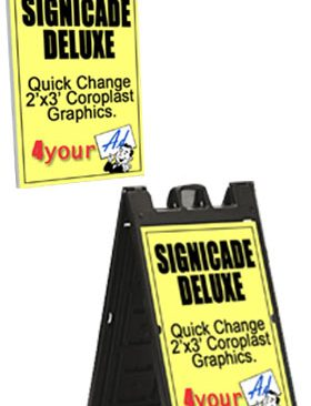 White-Signicade-Deluxe-Coroplast-Swap-out-Graphics