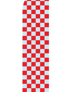 Grey-and-Red-Checkered-Econo-Stock Flag