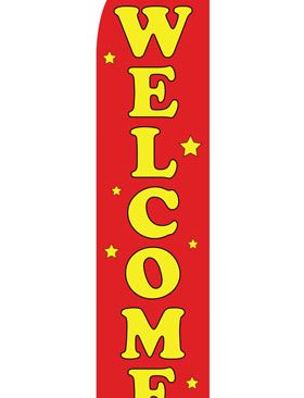Red-Welcome-Econo-Stock-Flag