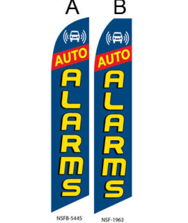 Flags Auto Alarms A,B Flags For Sale