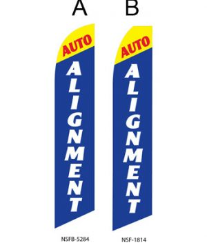 Flags For Sale Auto Alignment (Yellow-Blue)A,B