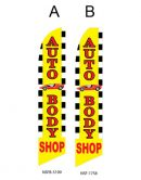 Flags Auto Body Shop A,B Flags For Sale