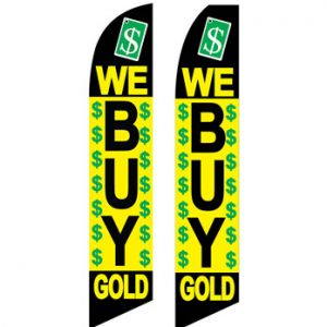 Business Flags (We Buy Gold) Flags Online Store