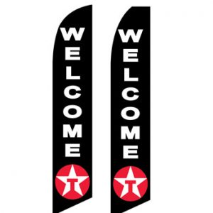 Business Flags (Welcome Texaco) Flags Online Store