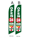 Business Flags (7 Eleven Open 24-Hours)