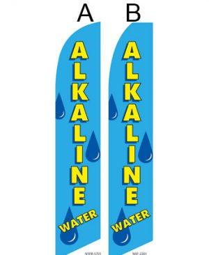 Business Flags (Alkaline Water)