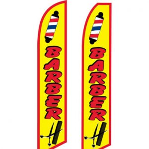 Business Flags (Barber Yellow) Flags Online Store