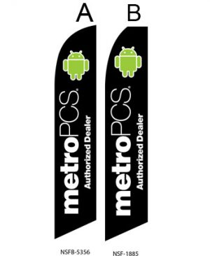 Buy Flags Online (MetroPCS Authorized Dealer Black) Flags Online Store