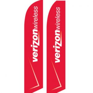 Buy Flags Online (Verizon Wireless Red White) Flags Online Store