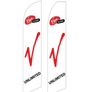Buy Flags Online (Virgin Mobile White) Flags Online Store