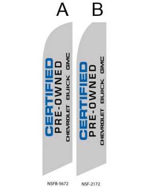 Car Dealerships Flags (Certified Pre Owned Chevy GMC Buick) Flags Online Store