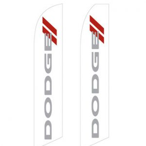 Car Dealerships Flags (Dodge White) Flags Online Store