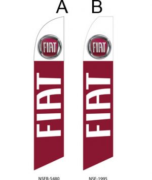Car Dealerships Flags (FIAT) Flags Online Store