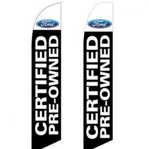Car Dealerships Flags (Ford CPO) Flags Online Store