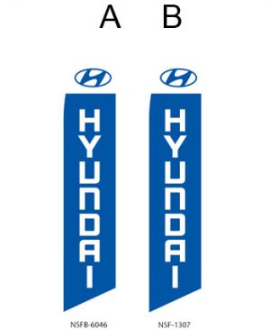 Car Dealerships Flags (Hyundai) Flags Online Store