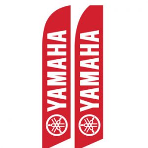 Car Dealerships Flags (Yamaha Motorcyles Red) Flags Online Store