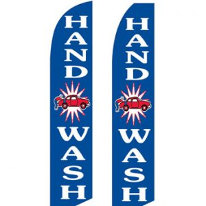 Car Wash Flags (Hand Wash Blue) Flags Online Store
