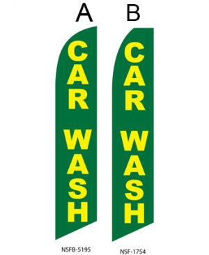 Car Wash Flags (Car Wash Green) Flags Online Store