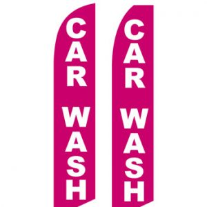 Car Wash Flags (Car Wash Pink) Flags Online Store