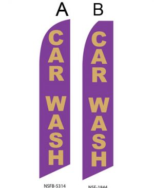 Car Wash Flags (Car Wash Purple) Flags Online Store