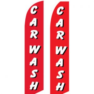 Car Wash Flags (Car Wash Red White) Flags Online Store