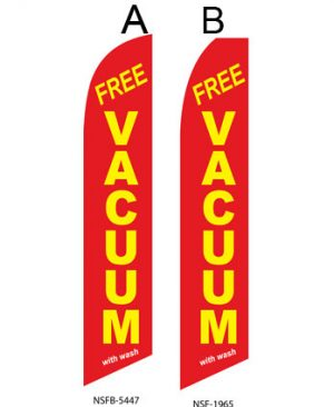 Car Wash Flags Car (Free Vacuum with wash Red) Flags Online Store