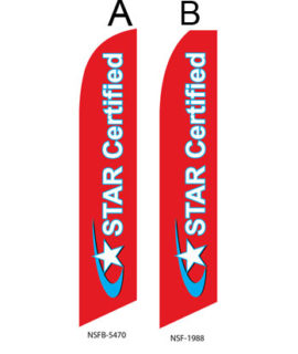 Checker Flag (Star Certified Smog Check) Flags For Sale