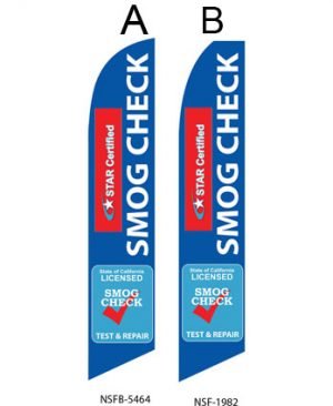 Checker Flag (Start Certified Test and Repair Smog Check) Flags For Sale