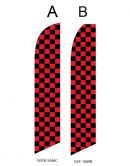 Checkered Flag (Black and Red Checkered)