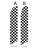 Checkered Flag (Black and White Checkered)