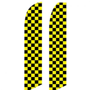 Checkered Flag (Black and Yellow Checkered)