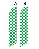 Checkered Flag (Green and White Checkered)