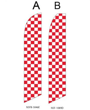 Checkered Flag (Red and White Checkered)