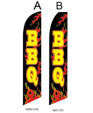 Flags For Food (BBQ Flames) Flags For Sale