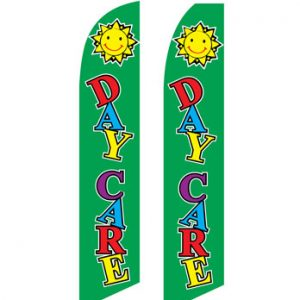 Business Flags (Daycare Green) Flags Online Store