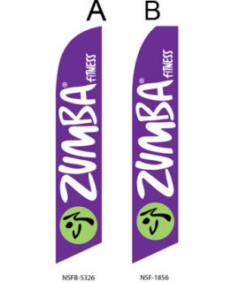 Flags For Sale Events Flags (Zumba Purple)