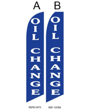 Flags For Sale (Oil Change Blue) Flags Online Store