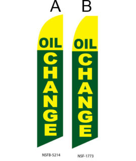 Flags For Sale (Oil Change Green Yellow) Flags Online