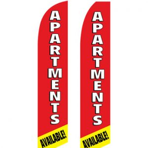 Insurance Flags (Apartment Available) Real Estate Flags