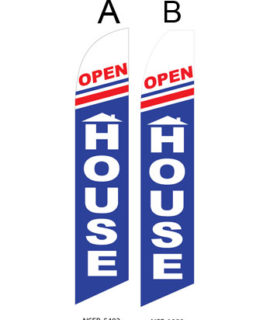 Insurance Flags (Open House) Real Estate Flags