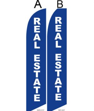 Insurance Flags (Real Estate Blue) Real Estate Flags