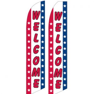 Open Flags For Sale (Welcome Stars)