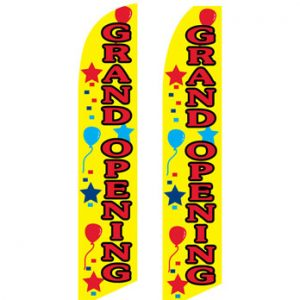 Open Flags For Sale (Grand Opening Yellow)