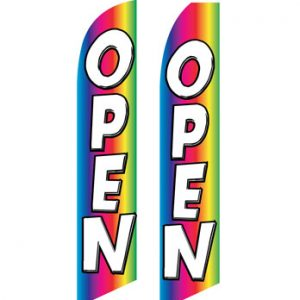 Open Flags For Sale (Open Rainbow)