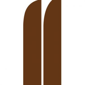 Solid Color Flags (Solid Brown)
