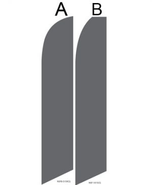 Solid Color Flags (Solid Cool Grey)