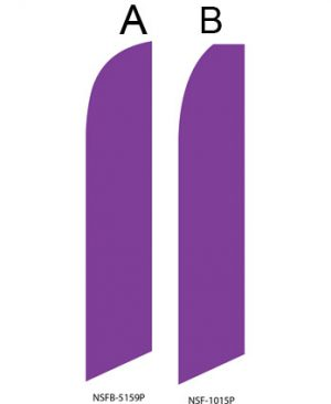 Solid Color Flags (Solid Purple)