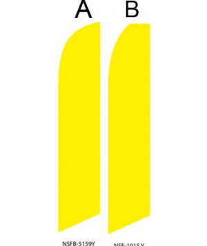 Solid Color Flags (Solid Yellow)