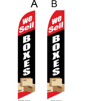 Storage Flags (We sell Boxes-Black)