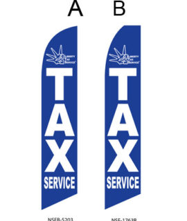Tax Flags (Liberty Tax Service Blue)